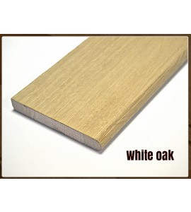 White oak hardwood windowboard