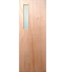 Mahogany Fire Doors - SIDE VIEW PANEL