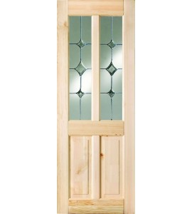 SHELTON GATSBY LEADED STYLE GLASS INTERNAL DOOR